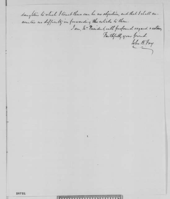 John B. Fry to Abraham Lincoln, Tuesday, September 29, 1863  (John Minor Botts)