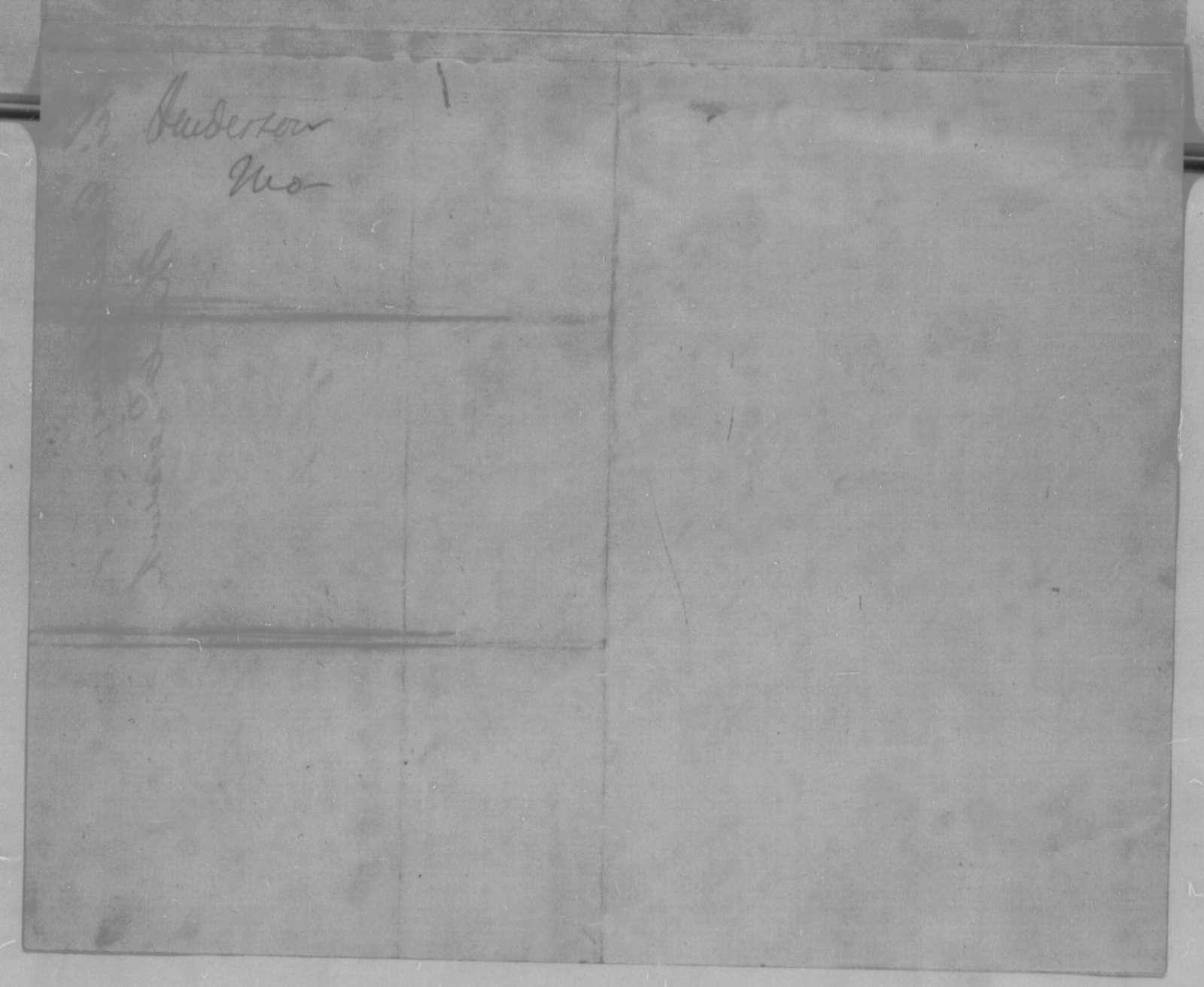 John B. Henderson to Abraham Lincoln, Sunday, December 20, 1863  (Introduction)