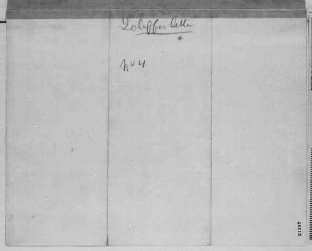 John Jolliffe to Edwin M. Stanton, Thursday, January 29, 1863  (Case of William Lilley)