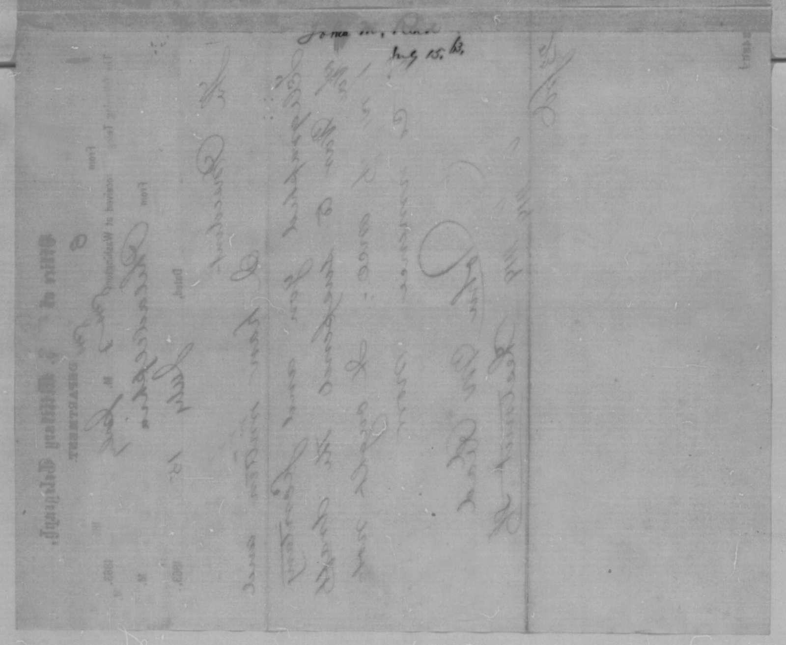John M. Read to Abraham Lincoln, Wednesday, July 15, 1863  (Telegram recommending suspension of draft in Philadelphia)
