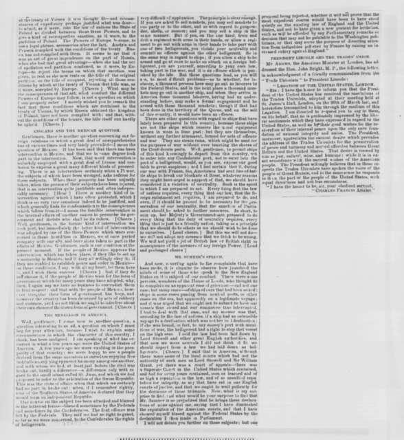 John Russell, Saturday, September 26, 1863  (Newspaper clipping)