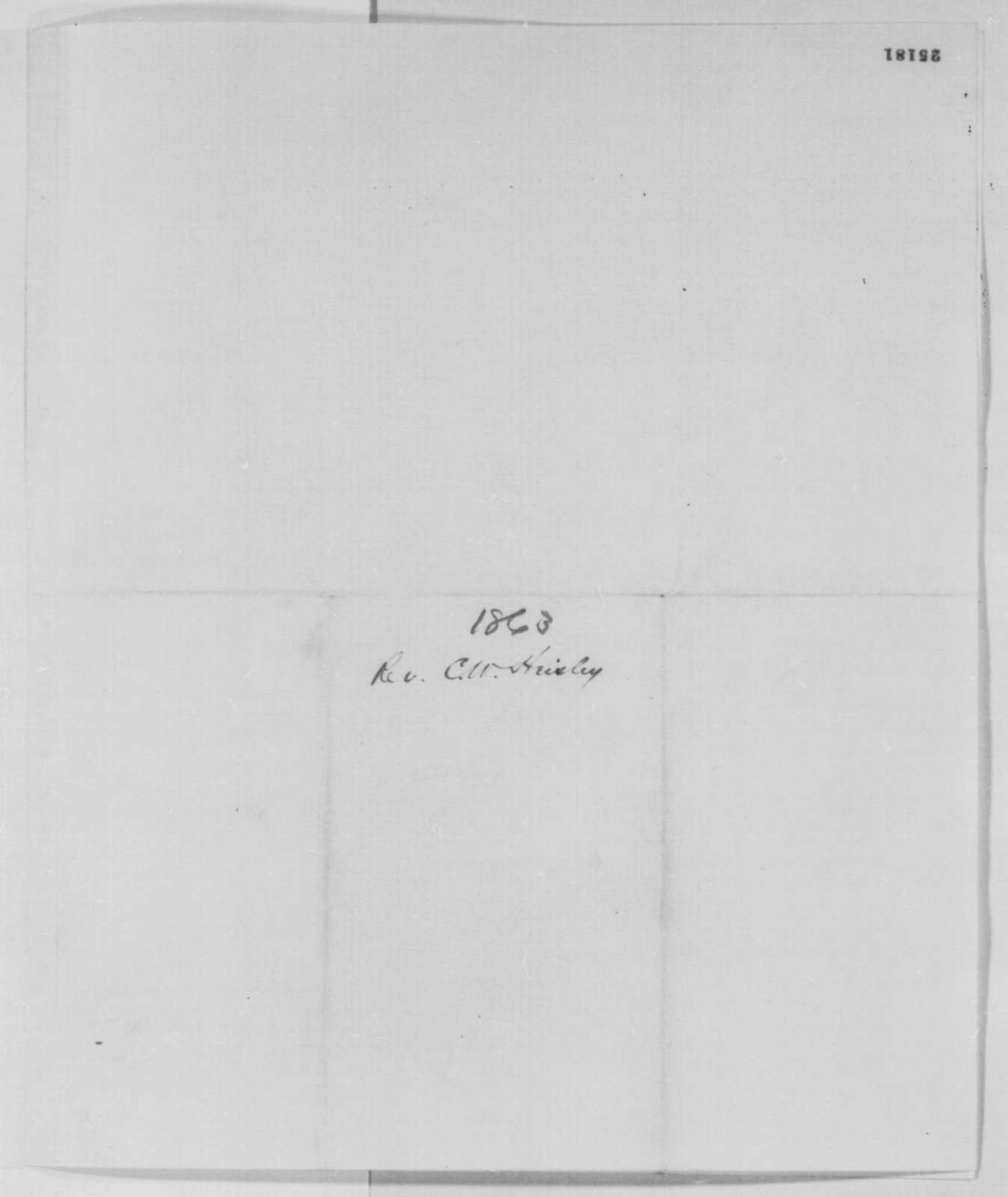 John T. Nixon to Abraham Lincoln, Monday, July 27, 1863  (Recommendation; endorsed by Lorenzo Thomas, July 28, 1863)