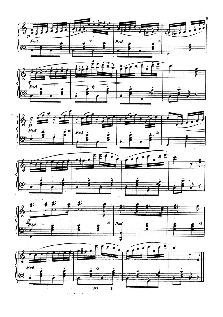 Kingdom coming [by Henry C. Work]; arranged for the piano forte by A. Baumbach.