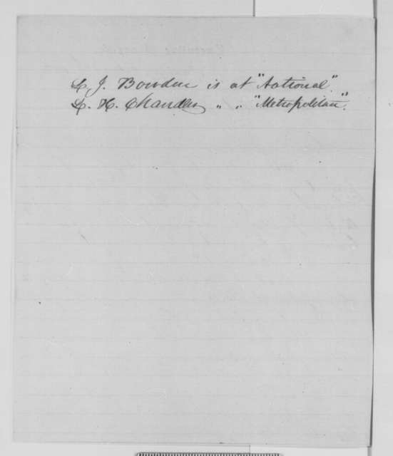 Lemuel J. Bowden and L. H. Chandler to Abraham Lincoln, Wednesday, October 21, 1863  (Send petition from Norfolk on behalf of David M. Wright)