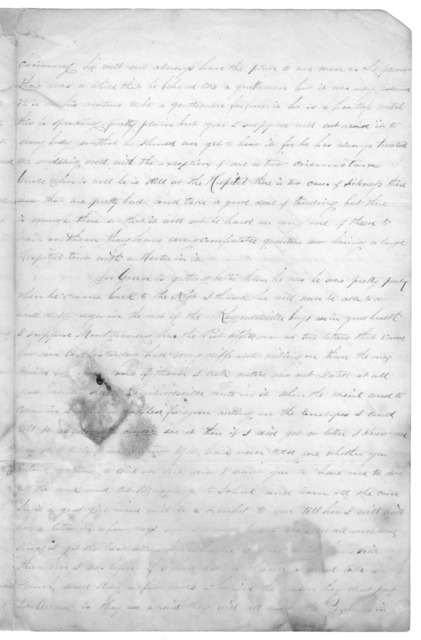 Letter from Tilton C. Reynolds to Juliana Smith Reynolds, January 1863