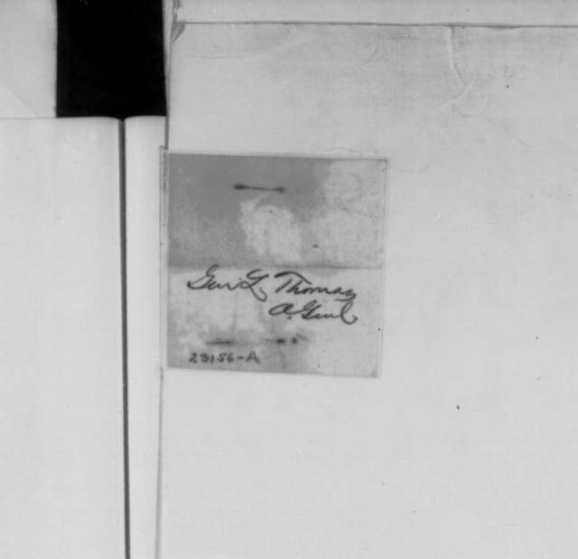 Lorenzo Thomas to Edwin M. Stanton, Thursday, April 23, 1863  (Telegram reporting military developments at Vicksburg)