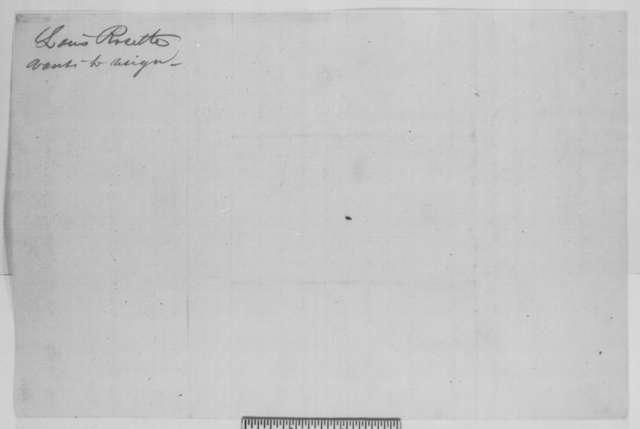 Louis Rosette to John G. Nicolay, Sunday, September 27, 1863  (Affairs in Arkansas)