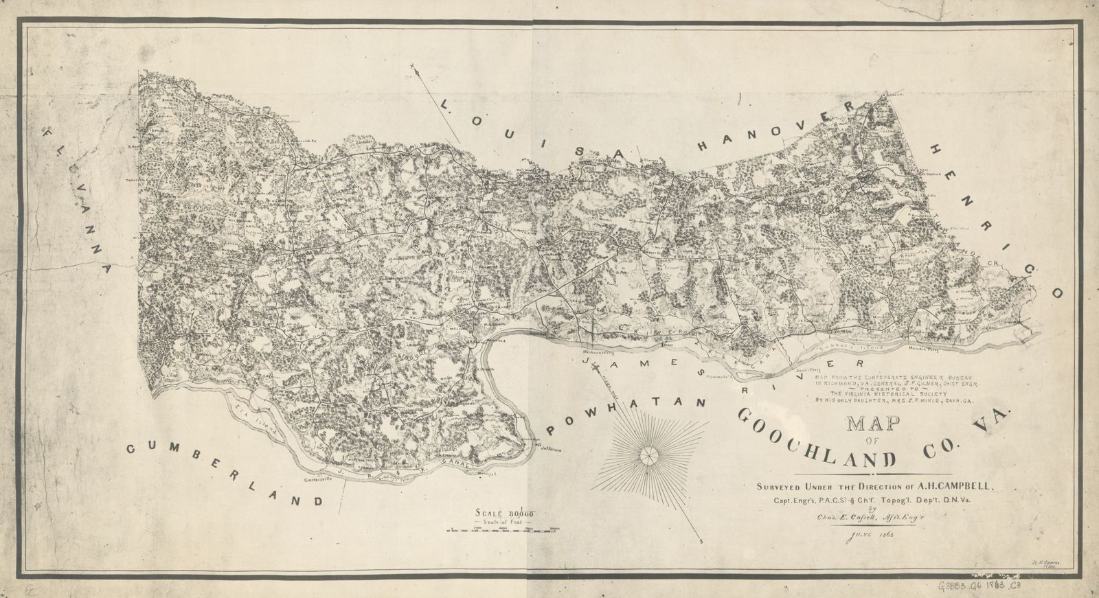 Map of Goochland Co., Va. /