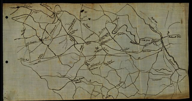 [Map of the vicinity of Chancellorsville, Va.]