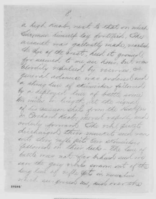 Montgomery C. Meigs to Edwin M. Stanton, Friday, November 27, 1863  (Telegram reporting military developments in Tennessee)