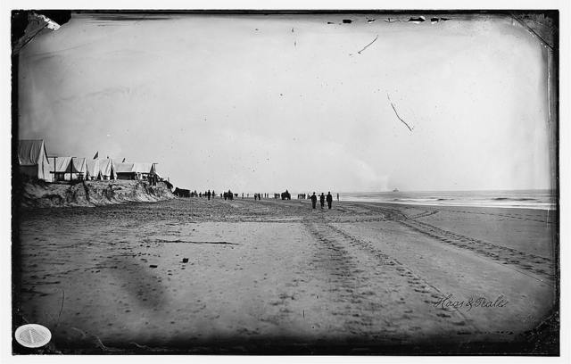 [Morris Island, South Carolina. Unidentified camp]