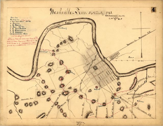 Nashville--Tenn. and vicinity 1863 /