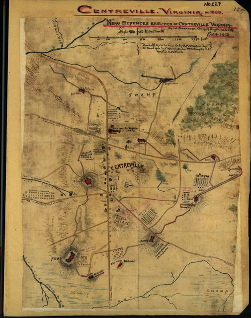 New defenses erected at Centreville, Virginia
