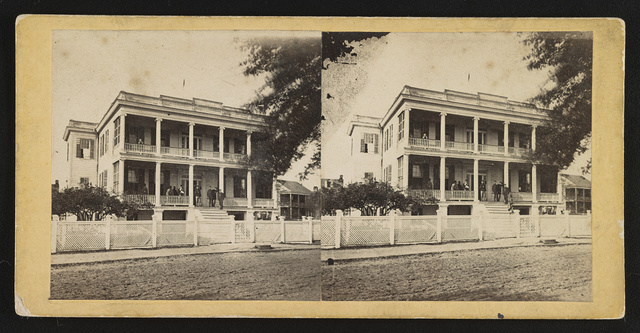 Officers' Hospital,  Beaufort, S.C.
