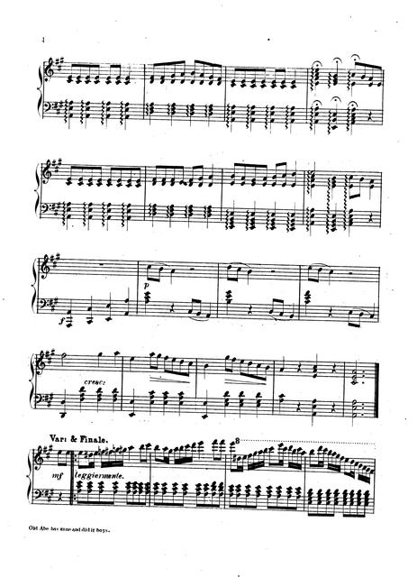 Old Abe has gone and did it boys: song by J.P. Webster; arranged by R. de Roode.