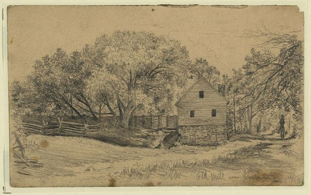 Old mill near Warrenton, Aug. 2, 1863