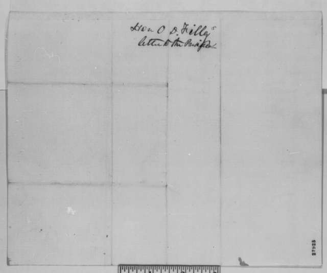 Oliver D. Filley to Abraham Lincoln, Monday, November 09, 1863  (Case of Samuel B. McPheeters)
