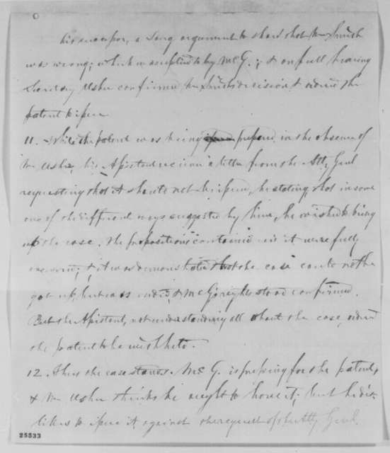 R. H. Gillis, Tuesday, August 11, 1863  (Statement on Panoche Grande lands in California)