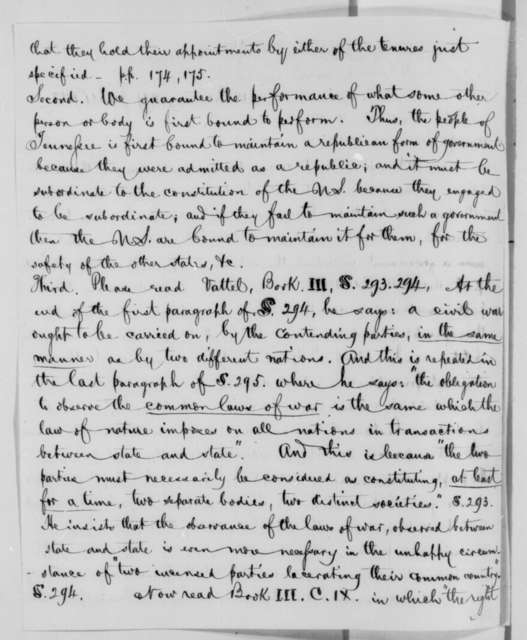 Return J. Meigs to Horace Maynard, Wednesday, January 21, 1863  (Constitutional and international law)