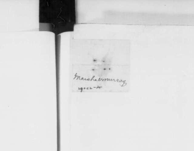Robert Murray to Edwin M. Stanton, Thursday, December 31, 1863  (Telegram reporting arrest in New York of printers of Confederate bonds)