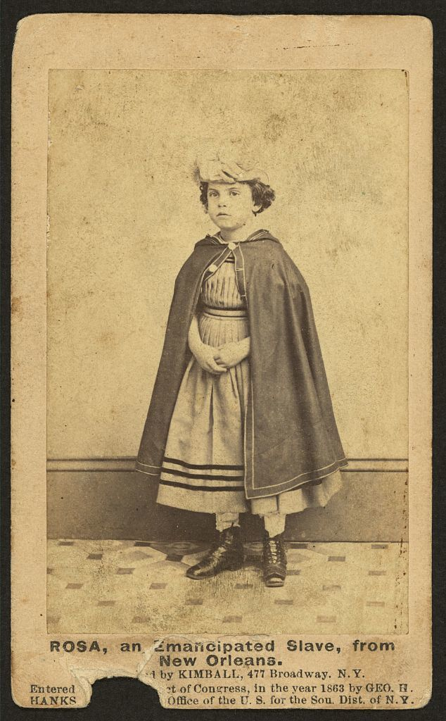 Rosa, an emancipated slave from New Orleans / [photographed] by Kimball, 477 Broadway, N.Y.