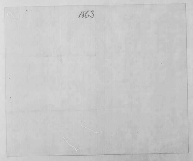 Schuyler Colfax to Abraham Lincoln, Saturday, June 13, 1863  (Clement L. Vallandigham)