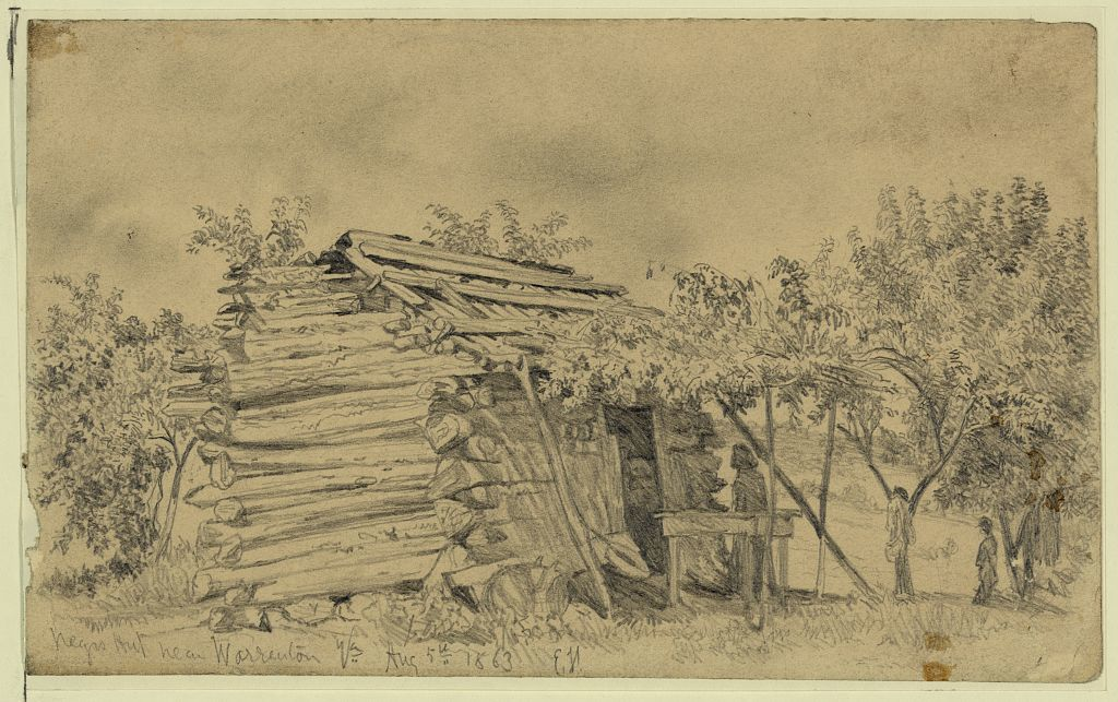 Slave cabin near Warrenton, Va.
