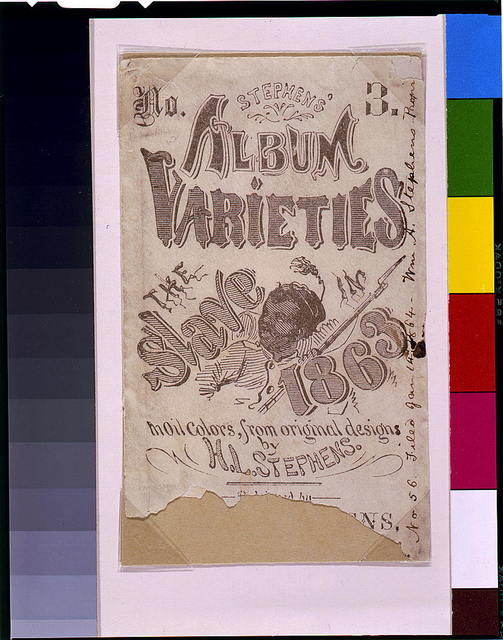Stephen's varieties No. 3: The slave in 1863