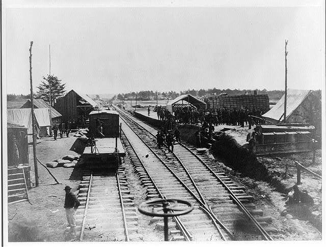 Stoneman's Station, Acquia Creek, Va.