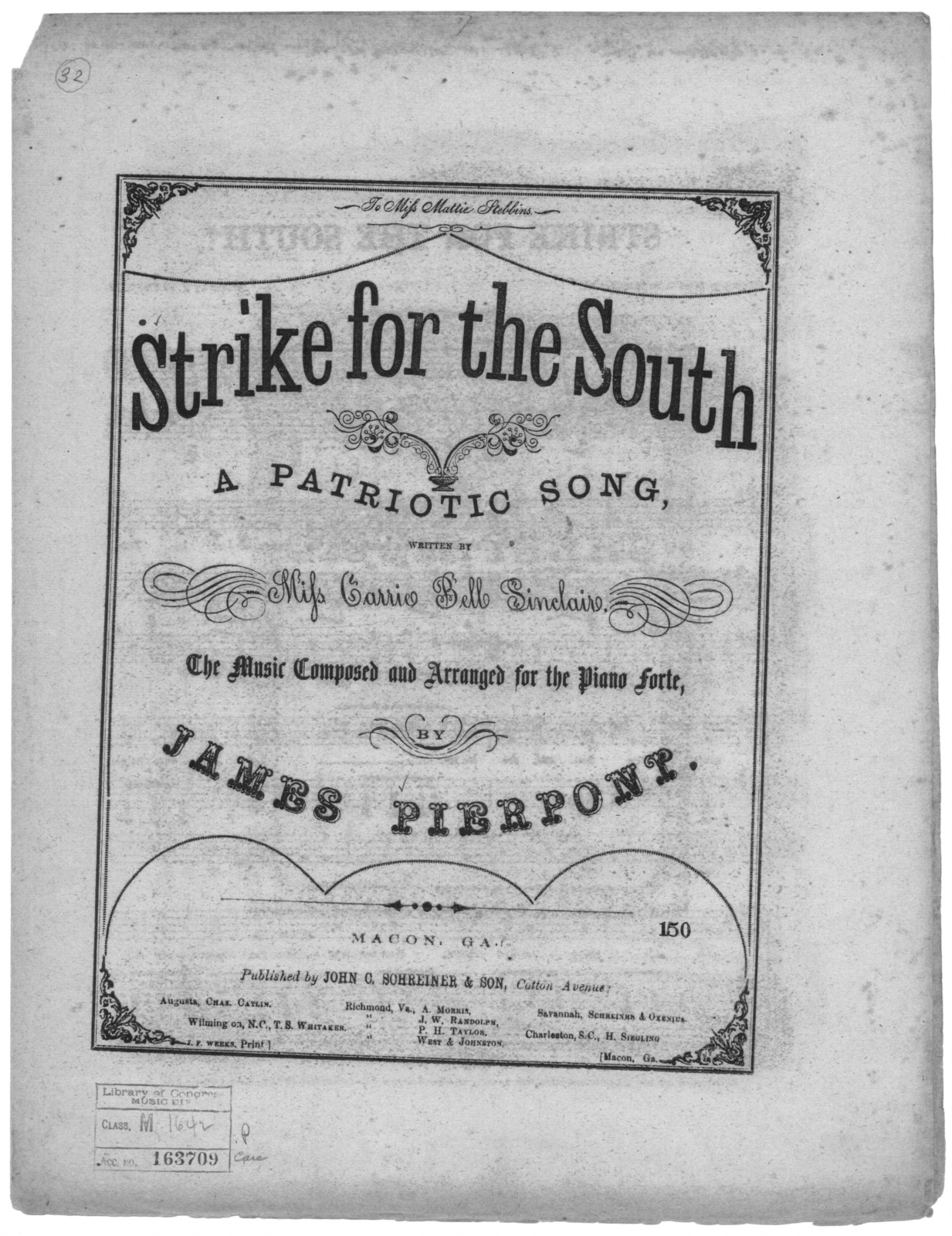 Strike for the south!