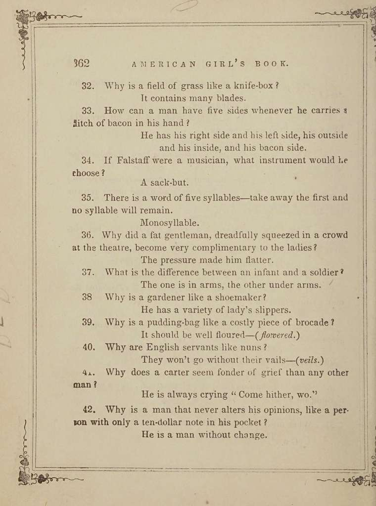 The American girl's book : or, Occupation for play hours