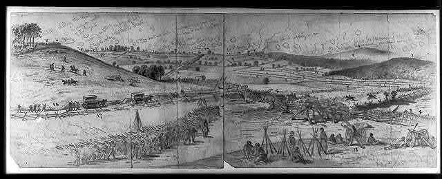 The battle of Gettysburg / EF.