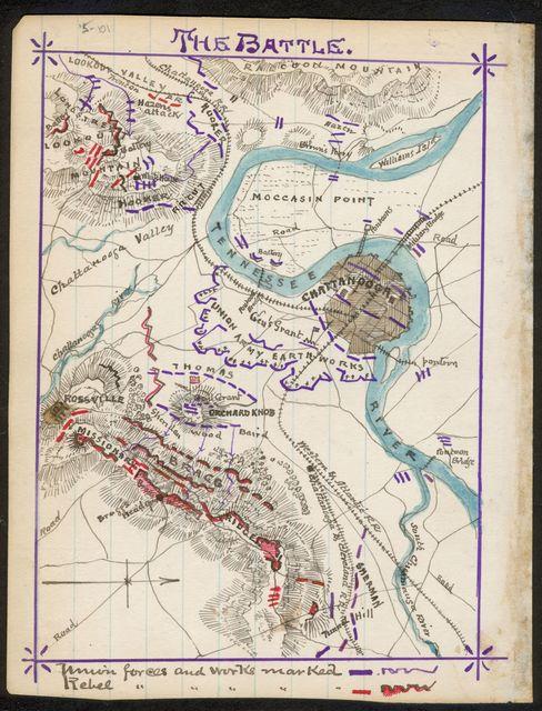 The Battle [of Missionary Ridge, November 25, 1864].