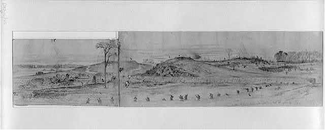 The battle of Rappahannock Station