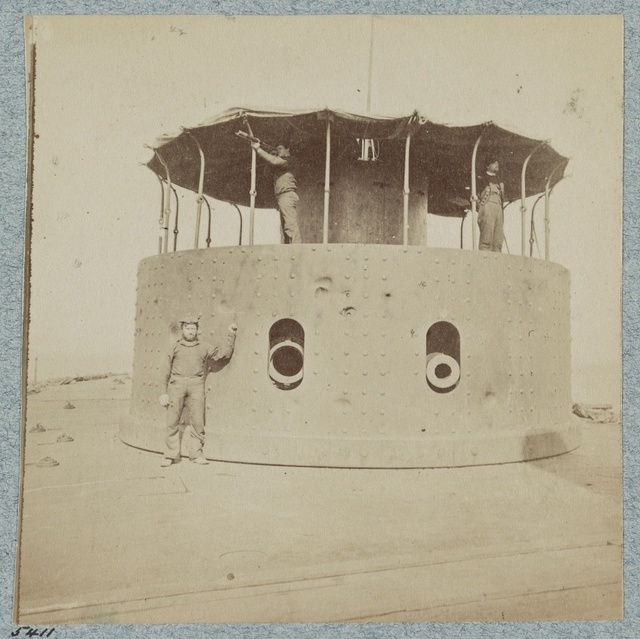 The monitor Passaic, Port Royal, S.C., 1863