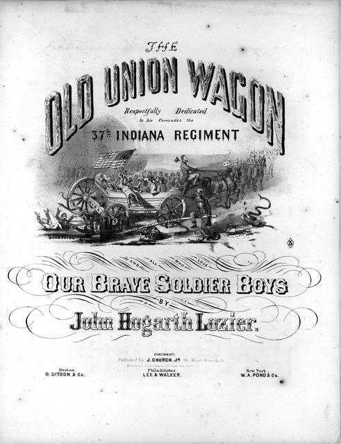 The old Union wagon by John Hogarth Lozier.