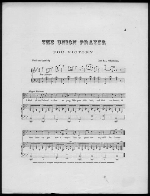 The  Union prayer for victory