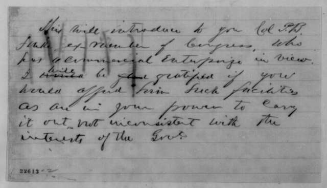 Thomas H. Hicks to Abraham Lincoln, Tuesday, March 24, 1863  (Requests return of Naval Academy to Annapolis)
