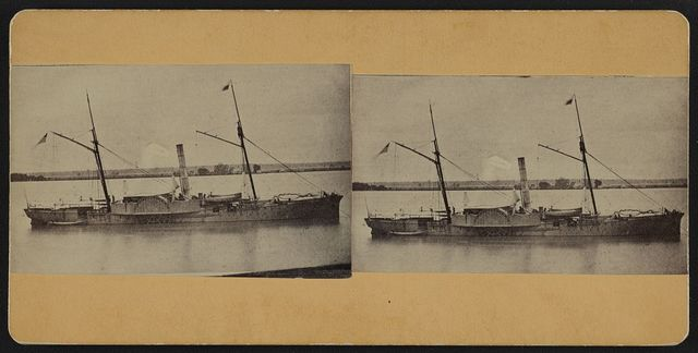 U.S.S. Genesee at Baton Rouge, La., March 1863
