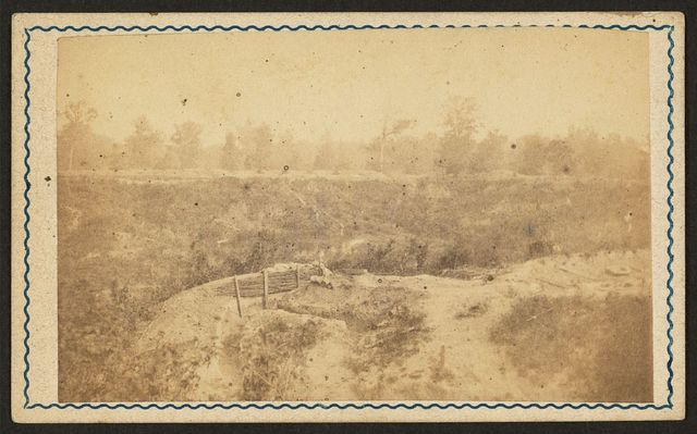 [View from defensive works at Port Hudson, Louisiana] / photographed by McPherson & Oliver, Baton Rouge, La.