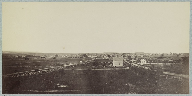 View of Gettysburg from the Northwest