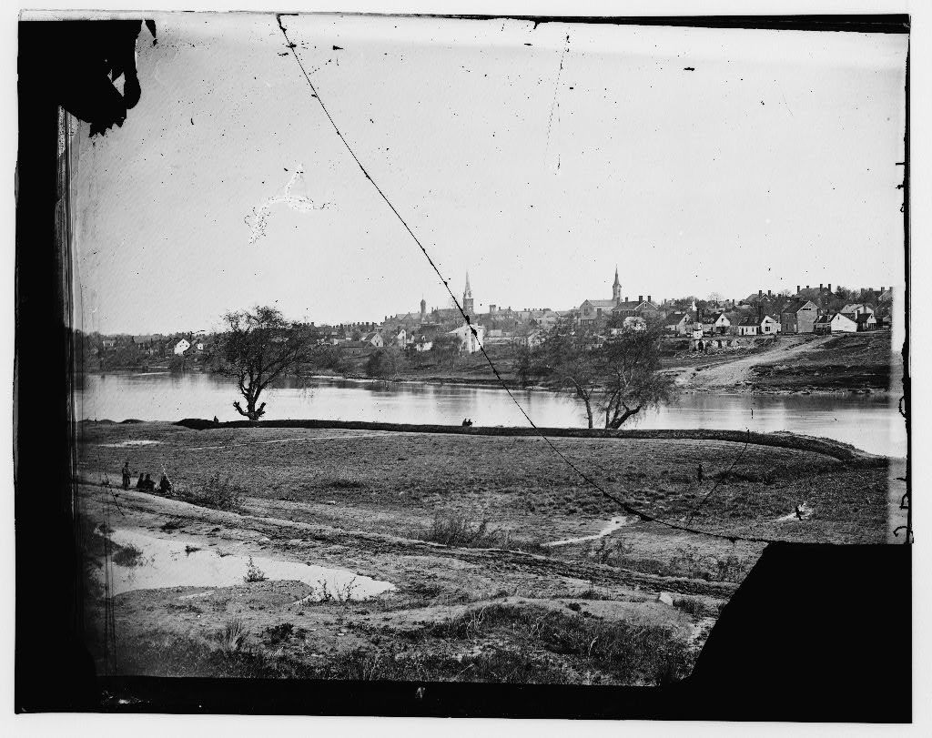 View of lower end of Fredericksburg, [...]