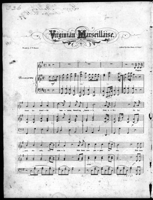Virginian Marseillaise