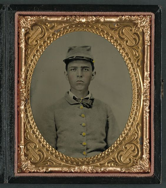 [W. P. Ward of Company F, 40th Georgia Battalion Infantry Regiment]