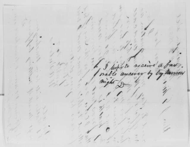 William A. Dubois to John G. Nicolay, Friday, November 27, 1863  (Resignation)