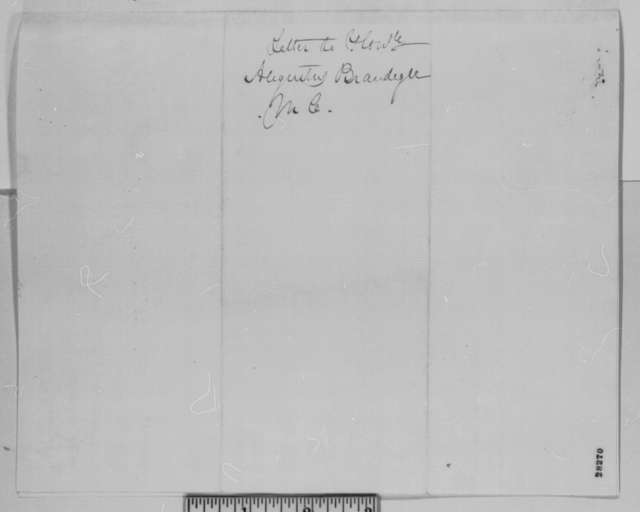 William Gates to Augustus Brandegee, Friday, November 27, 1863  (Seeks assistance with his case)