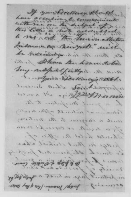 William Marvin to Abraham Lincoln, Friday, July 24, 1863  (Appointment of judge at Key West)
