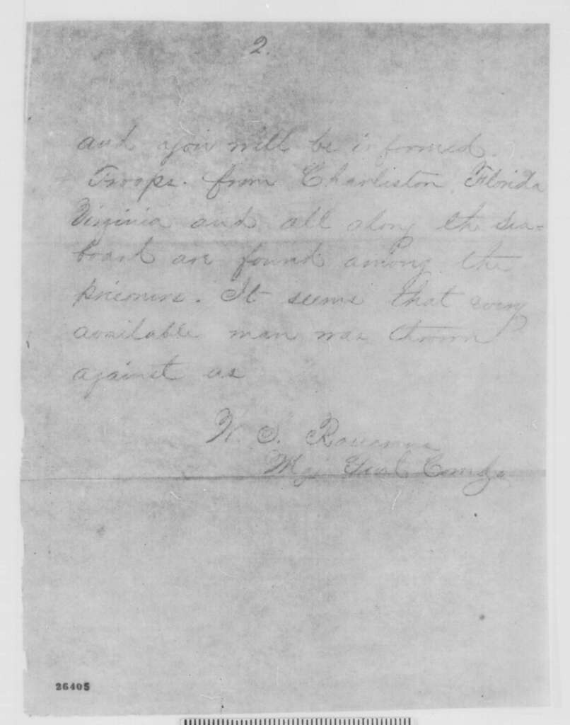William S. Rosecrans to Henry W. Halleck, Sunday, September 20, 1863  (Telegram reporting battle of Chickamauga)