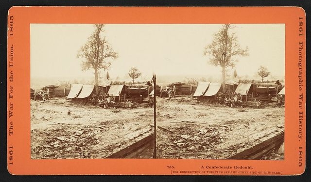A Confederate redoubt