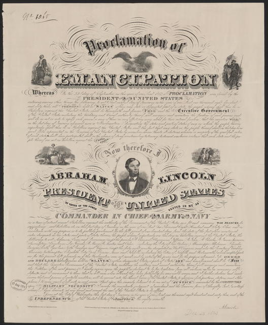 [A. Kidder Proclamation of Emancipation.]